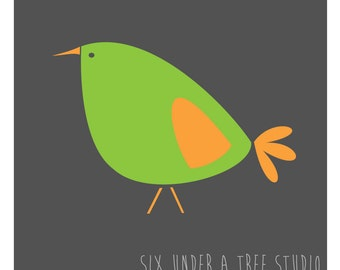 One Little Bird I Wall Vinyl Decals Art Graphics Stickers