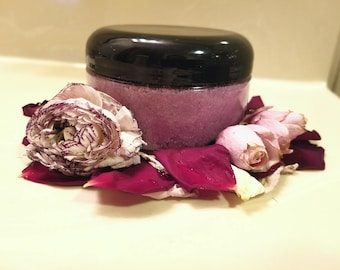 8oz Sugar Scrub Lavender Lemon (Thorns & Lavender Edition)