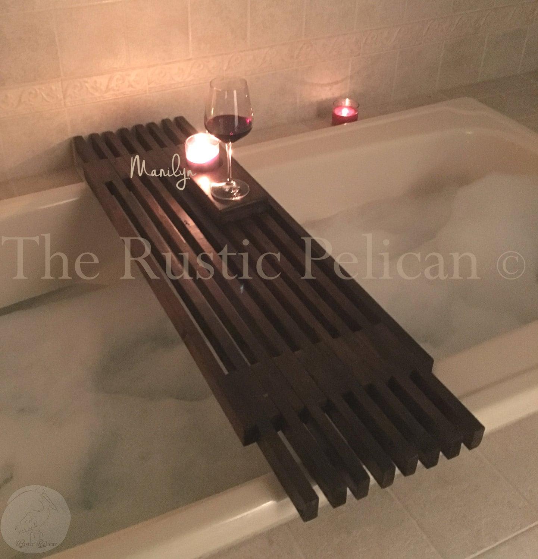 organizer w ip tub best walmart shower adjustable caddy length choice tray products bathtub com bamboo