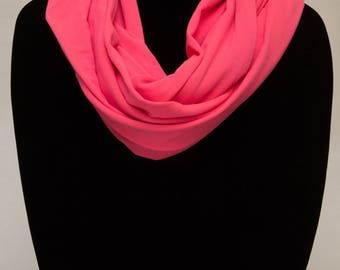 Infinity Scarf - Neon Pink