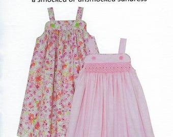 Children's Corner Sewing Pattern #6 / KATINA / Sizes 1 - 8