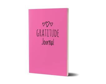 Gratitude Journal, Pink Cover, Lined Journal, 47A1542910293