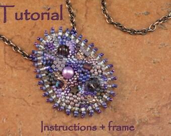 Tutorial & Frame - Framed Work of Art Necklace