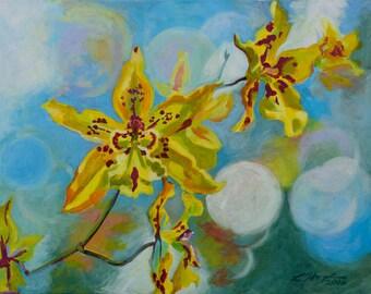 Yellow Orchid II