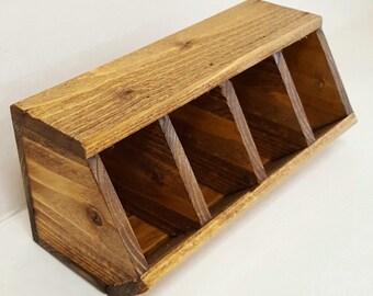 Wood storage bin