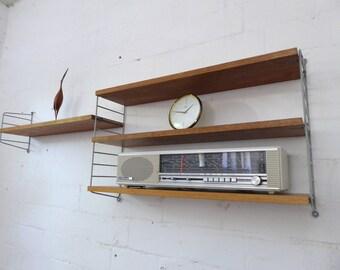 String Wall unit Nisse Strinning Shelf 60s 60 shelf system mid century modern