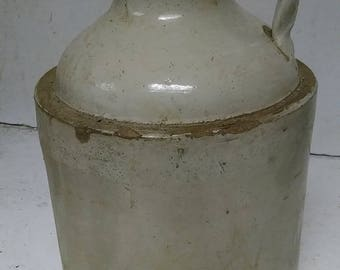 Stoneware wide mouth jug