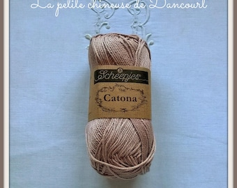 Pink old Catona Mercerized cotton