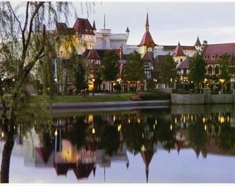 EPCOT Center Postcard Germany World Showcase 1983 Unposted NM Walt Disney World 21043