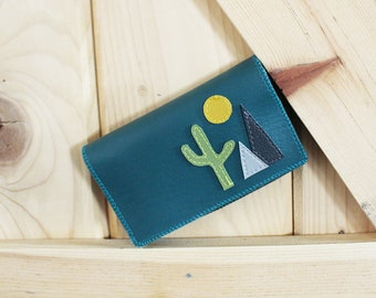 Desert ) New Slim Wallet with Zippers