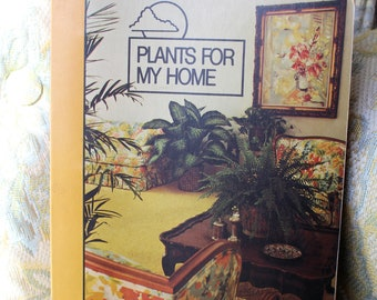Plants For My Home Collect-A-Card Binder by Nature Life (1976) - Vintage Books