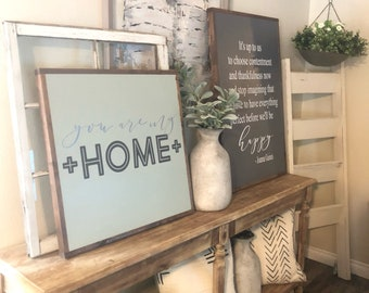 You Are My Home Sign| Livingroom| Bedroom