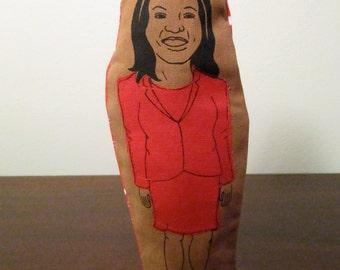 Mitzie Hunter Finger Puppet