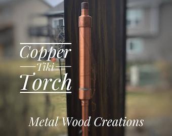 Patio Tiki Torch - Copper