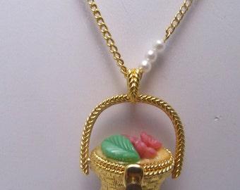 Edgar Berebi Limited Edition Gold-tone Basket Necklace
