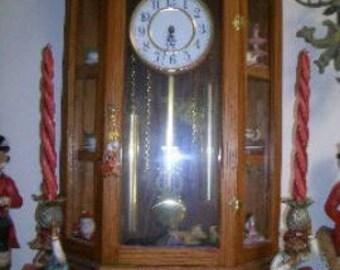 CURIO CABINET CLOCK