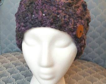 Womans Crochet Divine Beanie