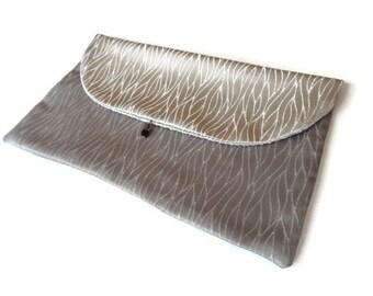 Silver Grey Lingerie Bag Travel Underwear bag