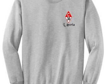 Catalina 30 Ash Grey Crew Sweatshirt