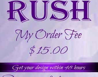 Rush Listing Fee