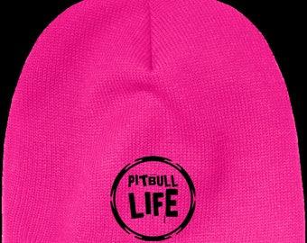 Pitbull Life - Acrylic Beanie