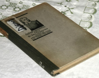 1921 book: Oliver Cromwell A Play by John Drinkwater, rights by William Harris Jr of Hudson Theatre in New York City