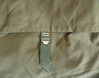 SALE  Unused Vintage Sovietic Messenger Bag, Military Canvas  Bag, Vintage  Backpack Army Canvas,  Soviet green crossbody bag .