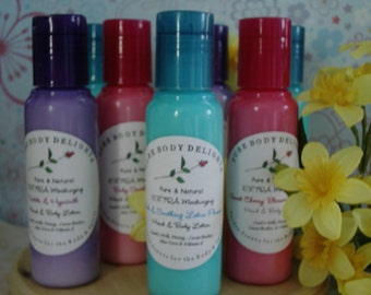 French Vanilla Cupcake--EXTRA Moisturizing CREAMY and RICH--Shea Butter--Cocoa Butter and Aloe--Hand and Body Lotion