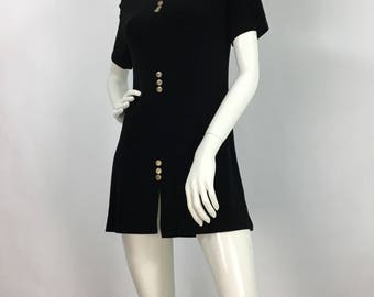 Black spandex mini/vintage mini