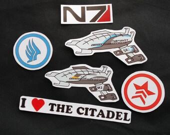 Mass Effect Stickers