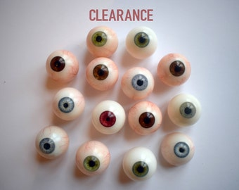 Pro Artificial Eyes CLEARANCE (Second Quality, Single Eyes)