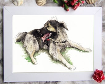 Custom Portrait of Pet, Custom Pet Painting, Pet Portrait, Custom Pet Portrait, Pet Painting, Pet Watercolour Portrait, Custom Pet Art