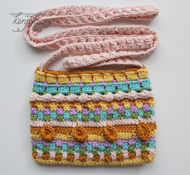 Merry Crochet Sling Bag,Sling Bag Crochet Pattern, DIY, Mini Sling ...