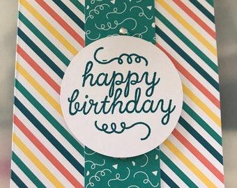 Birthday greeting card handmade