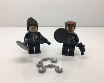 Lego Lot of Police Officer Minifigures Free US Shipping