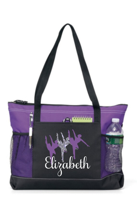 Girl Dance Tote Personalized Bag Custom Cheap Bags