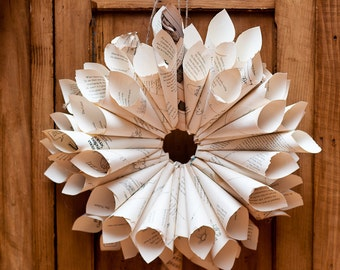 DIY Rolled Paper Wreath Kit