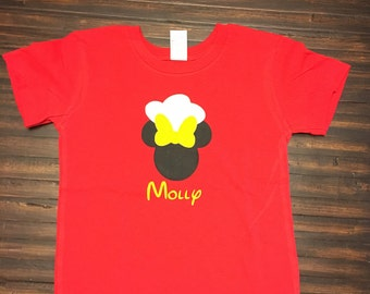 Chef Mickey Mouse kids shirt  Adult shirt