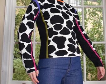 Funky Cow Spot Sweater