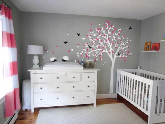 Kinderzimmer Wand moderne baby kinderzimmer wand baum decal kinder