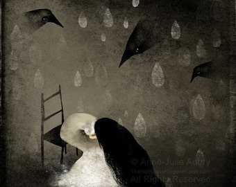 This Glorious Sadness - Deluxe Edition Print - Whimsical Art