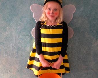 Bumblebee Bumble Bee Halloween Costume Dress, Baby Costume, Girls Costume, Newborn Costume, Girls Dress, Baby Dress, Bee Dress, Newborn