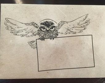 Harry Potter Themed Envelope  | DIY Printable