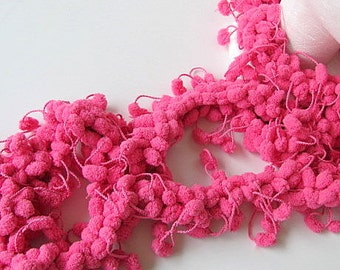 SALE Hot Pink Boa Scarf FREE US Shipping