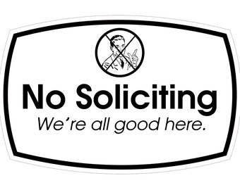 No Soliciting