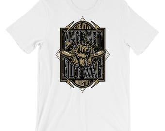 Graphic Arts Tshirt - Art School Tshirt - Art Teacher Tshirt - Graphic Tshirt -Shirt With Pencils - Teacher Tshirts - Art School Shirt