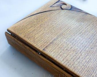 Wooden Binder Unique Portfolio Ring binder