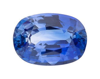 Natural Oval Blue Sapphire 4.68 GIA Certified
