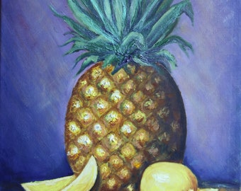 """Pineapple """"From inside bne I sweet and soft"""""""