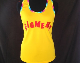 Figment inspired racerback with wings